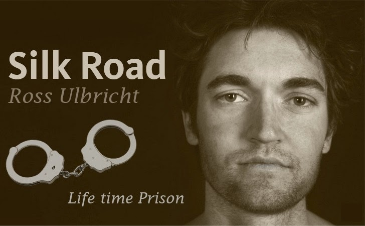 Silk Road founder Ross Ulbricht Convicted of All 7 Charges; Faces Life In Prison
