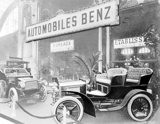 Mercedes 35 PS in Paris, 1902