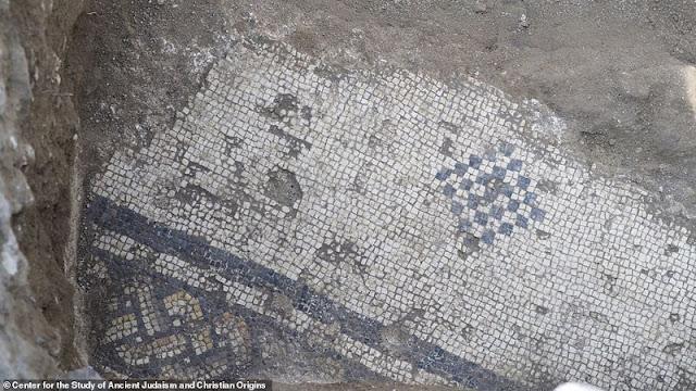 Η εκκλησία που ανακαλύφθηκε, φέρεται να χτίστηκε σε μέρος της οικίας των δύο Αποστόλων