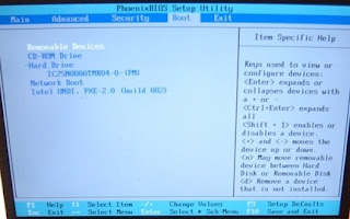 Gambar Panduan Cara Masuk BIOS Notebook Atau Laptop