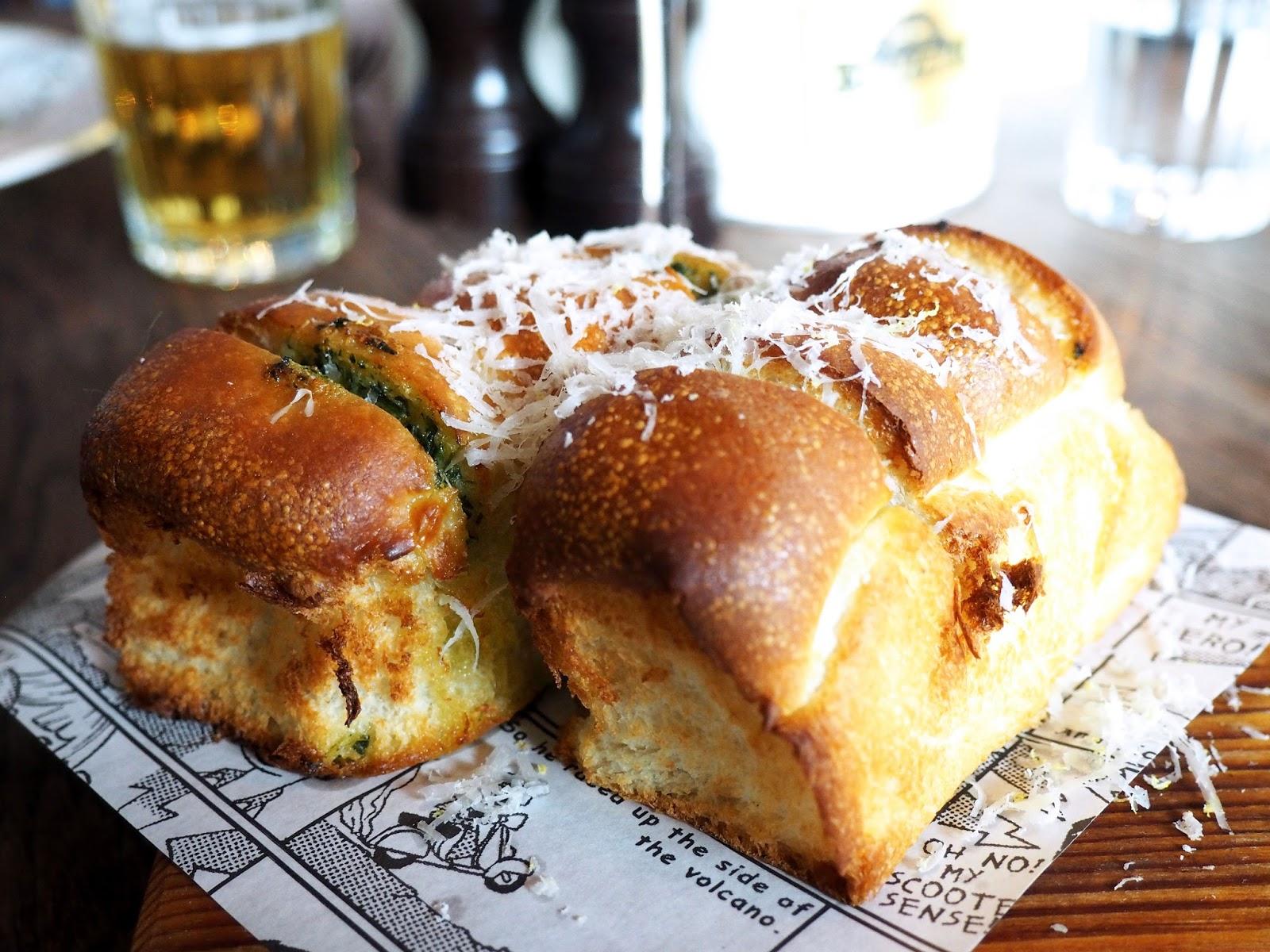 Jamie's Italian Garlic Bread Starter