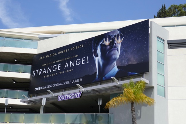 Strange Angel season 1 billboard