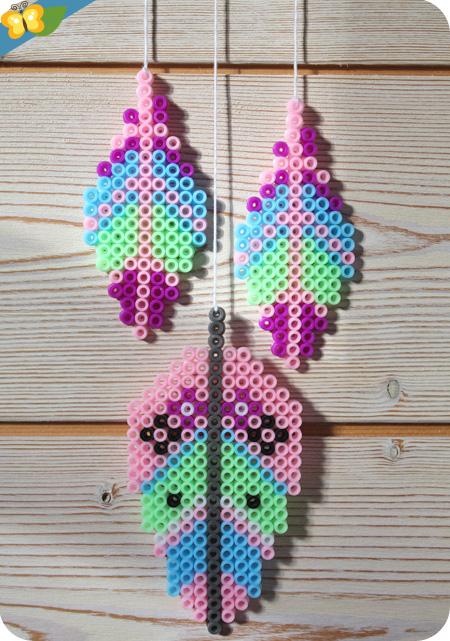 Mes décorations en perles à repasser de Maude Guesné - Auzou créatif