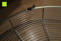 Klammer: Andrew James 40cm Standventilator mit Chromfinish – 60 Watt Motor, Verstellbare Höhe, 3 Geschwindigkeitseinstellungen, verstellbare Neigung und Schwenkfunktion + Hochbeanspruchbar – 2 Jahre Garantie