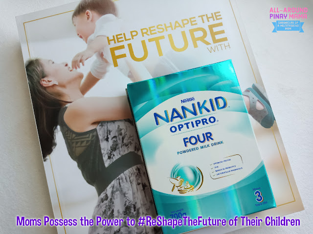 All-Around Pinay Mama, SJ Valdez, Nestle Philippines, Nankid Optipro Four, Nankid, Parenting, AAPM Musings, AAPM Recommends, #ReShapeTheFuture