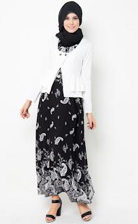 Model Baju Batik Kantor Setelan Rok