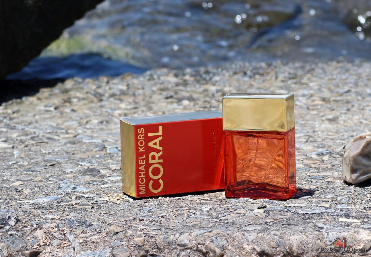 MICHAEL KORS - CORAL Perfume review מייקל קורס בושם קורל סקירה גלוסברי בלוג איפור וטיפוח