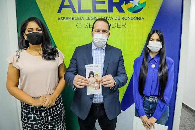 Aprovado projeto do presidente Alex Redano que incluiu lactantes no grupo prioritário para vacinação da covid