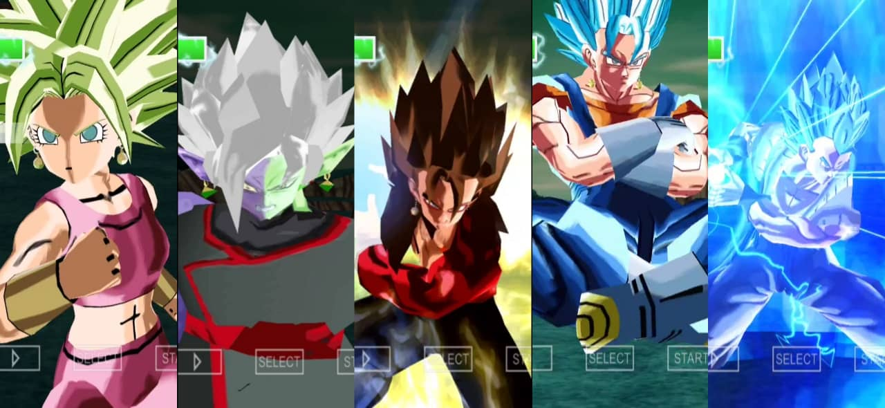 All Fusions in Dragon Ball Xenoverse 2