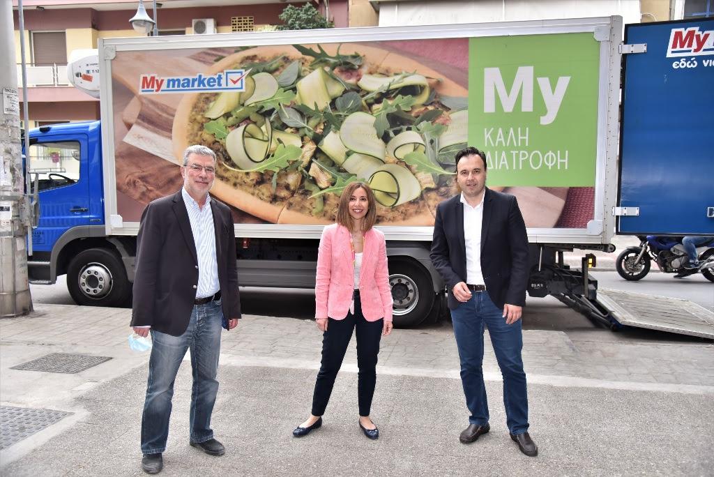 ΚΕΔΕ και My Market στηρίζουν τα κοινωνικά παντοπωλεία σε όλη την Ελλάδα