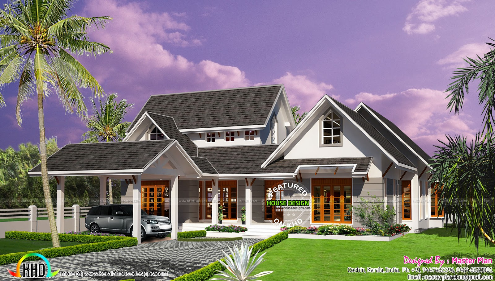 A home like resort at Kumarakom Kerala home design and