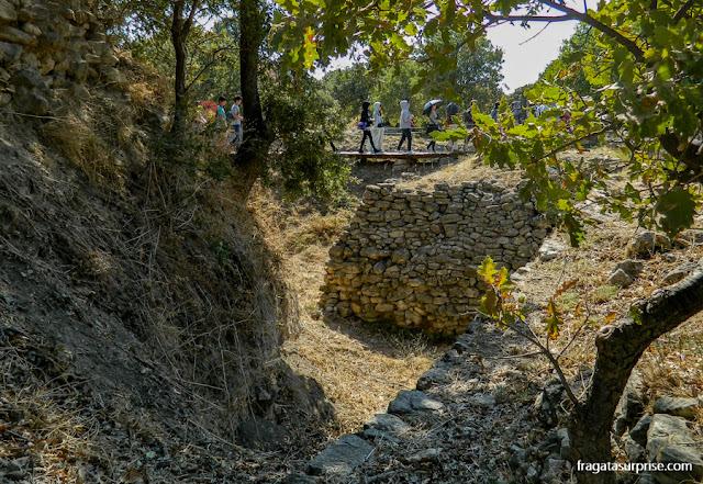 Escavações no Sítio Arqueológico de Troia, Turquia