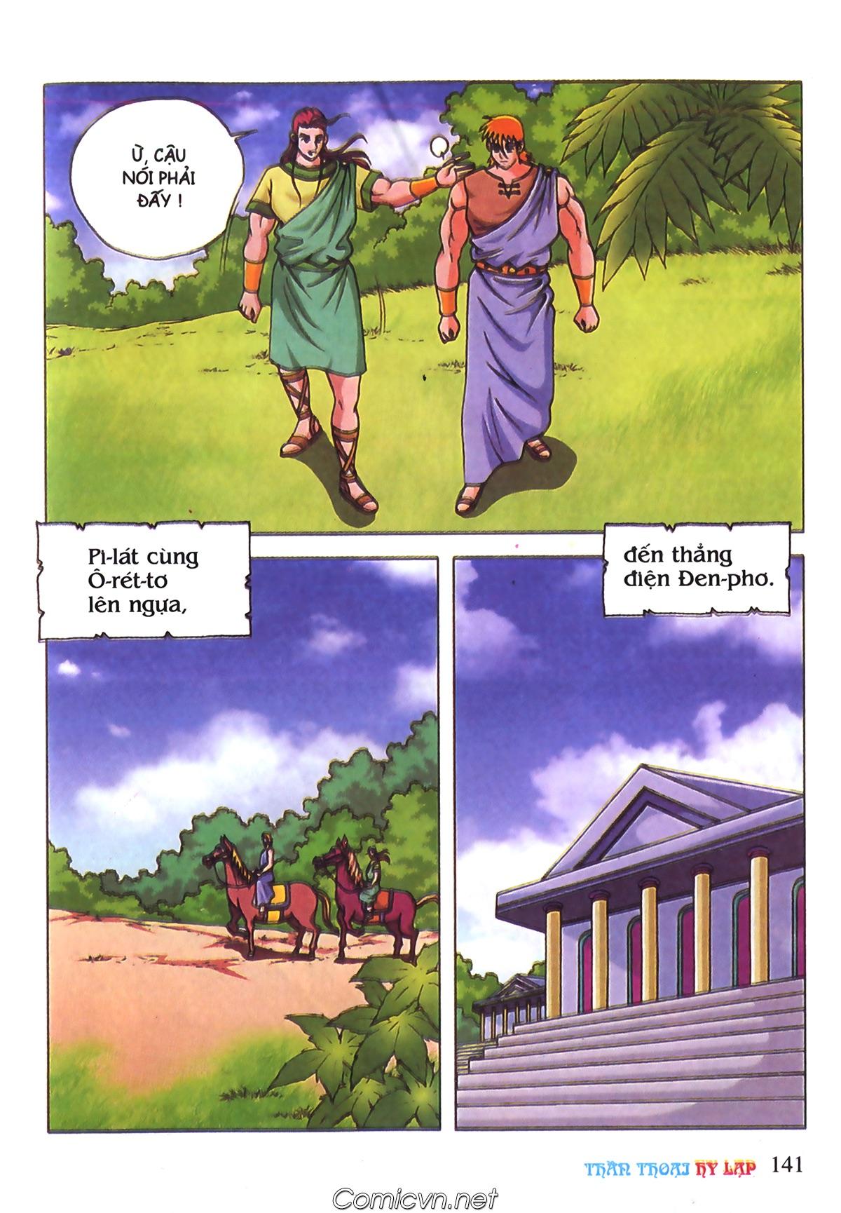 Thần Thoại Hy Lạp Màu - Chapter 70: Nàng Ê lếch tơ - Pic 34