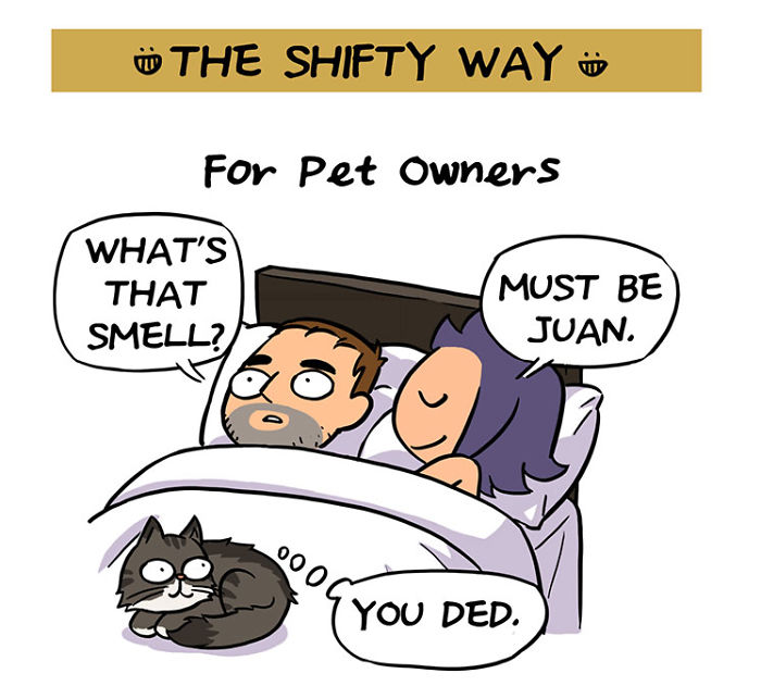 How To Fart When Sharing A Bed: A Hilarious Comic For Couples
