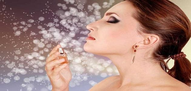 Women's perfume tips