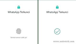 Fitur Fingerprint Lock di android