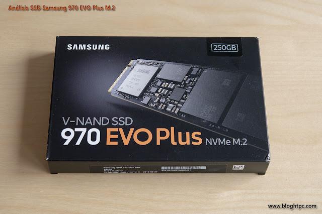 EMBALAJE Y CONTENIDO SAMSUNG 970 EVO PLUS 250GB