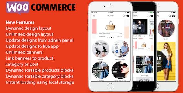Download ionic 3 App for WooCommerce v8.0.1