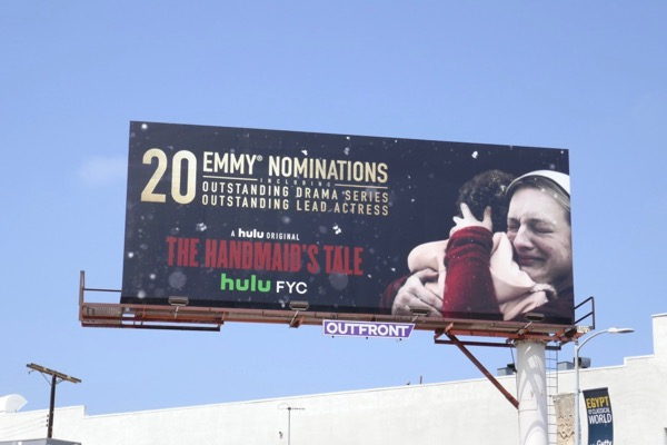 Handmaids Tale 2018 Emmy nominee billboard