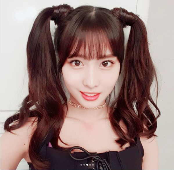 Twice Momo Is A Cutie Pie With Pigtail Hairstyle Daily K
