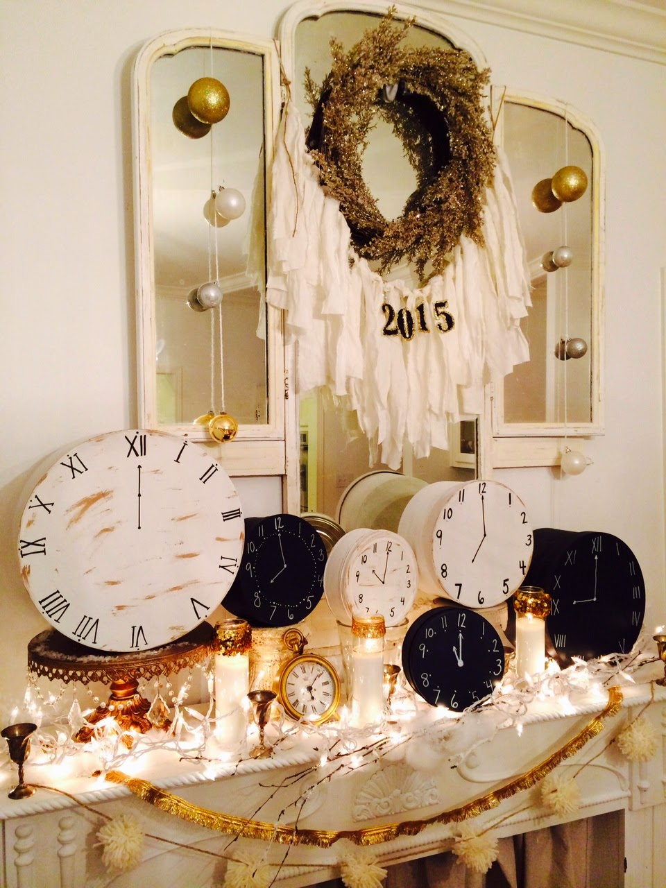 Little Farmstead: New Year's Decorating & A Fun Tradition!