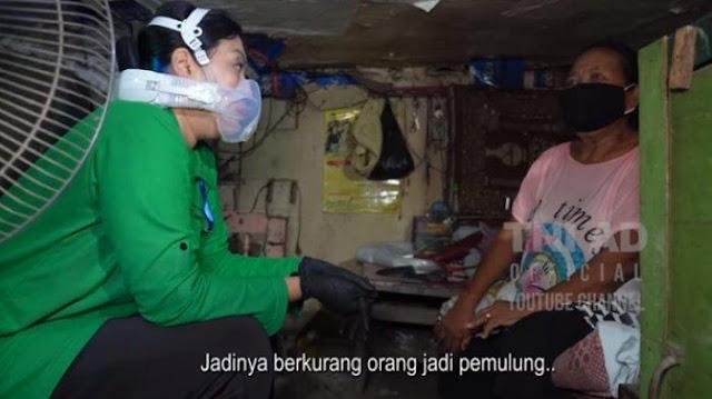 Tinggal di Bawah Jalan Tol, Pemulung Ini Usir Suami yang Gemar Mabuk, Istri Andika Perkasa: Iyalah