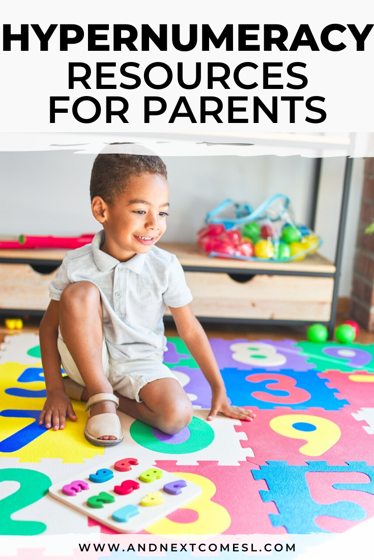 Hypernumeracy resources for parents