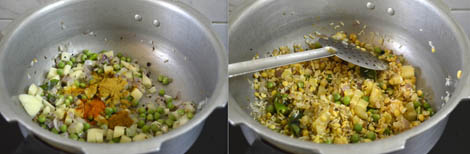 how to prepare vegetable khichdi