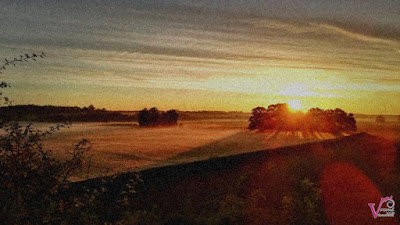 the view of the sun rises after hurricane lorenzo that occurred in england