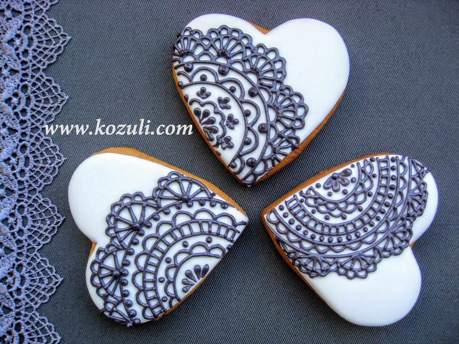 Печенье Сердечки в форме  кулинарный рецепт
