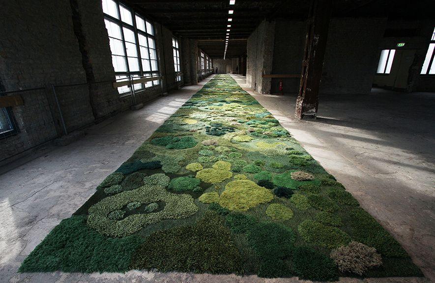 Arredo in tappeti realizzati con materiali di recupero for Arredo di recupero