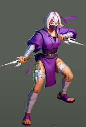Ametrine Ninja Hero 4* Empires and Puzzles