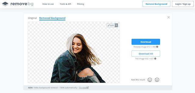 cara menghapus background gambar dengan menggunakan remove.bg