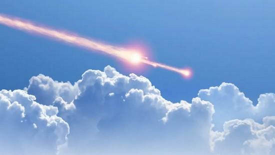 Meteorite infuocato sorvola Regno Unito e Francia