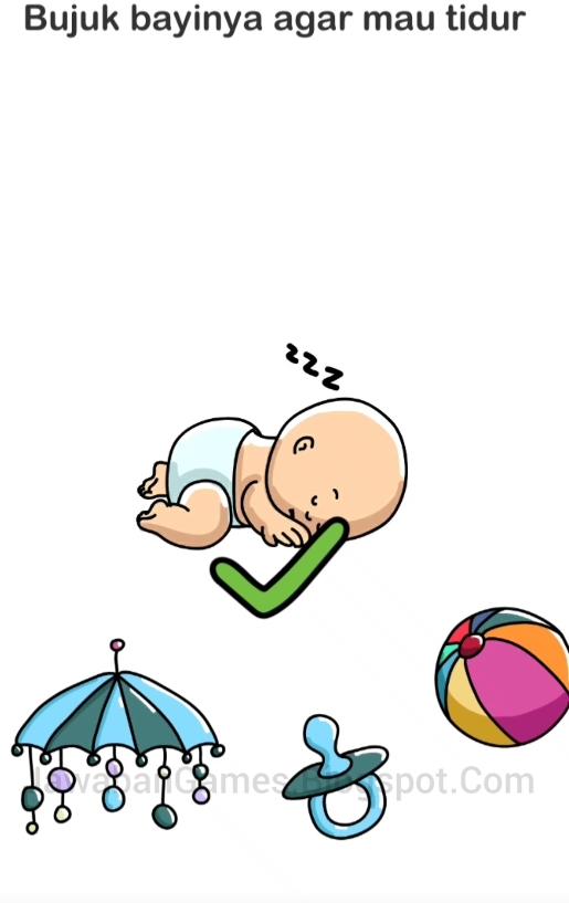 Bujuk Bayinya Agar Tidur Brain Out : bujuk, bayinya, tidur, brain, Kunci, Jawaban, Brain, Bujuk, Tidur, Galeri