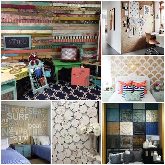 ideas diy paredes texturas