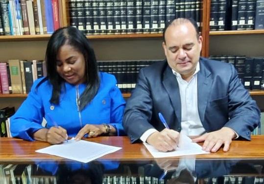 Frente de Abogados del PRM y Presidente del CARD acuerdan composición de Comisión Electoral y firman convenio de paz