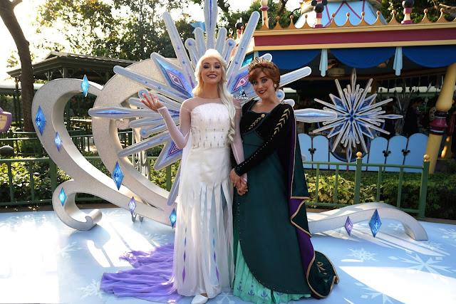 Disney, Disney Parks, A Disney Christmas , A Disney Christmas 2019, HKDL, HK Disneyland, 香港迪士尼樂園, 聖誕節, Frozen 2, Elsa, Anna