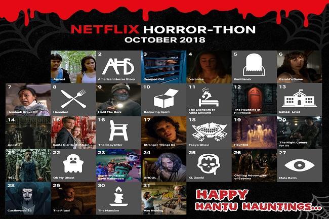 Netflix Horror Thon 2018 For The Love Of Hantu Hauntings