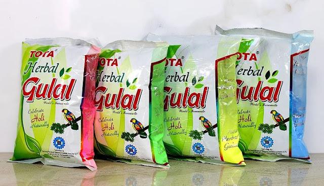 Tota 100% Natural Organic Holi Rangoli Color Powder Gulal