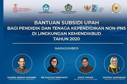 Kabar Gembira, BLT Guru Honorer Rp 1,8 Juta Cair, Silahkan Login info.gtk.kemdikbud.go.id