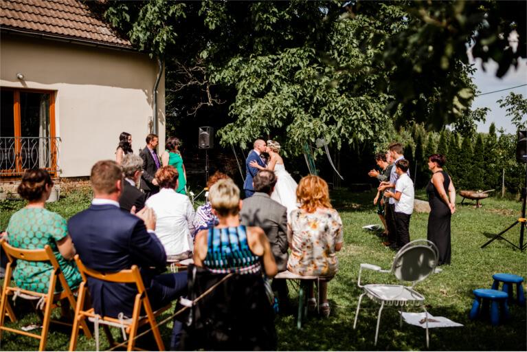 DIY Sommerhochzeit bei Dresden mit Vintage Boho und Greenery Elementen