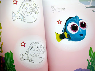 finding dory learn to draw book baby dory