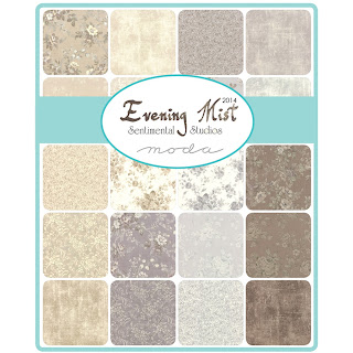 Moda EVENING MIST Fabric by Sentimental Studios for Moda Fabrics