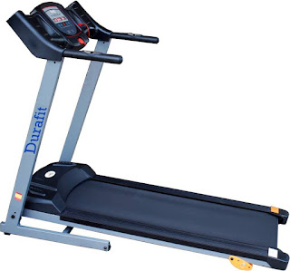 Durafit 001 Sturdy Motorized Foldable Treadmill
