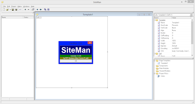Screenshot SiteMan 1.0.6 Full Version