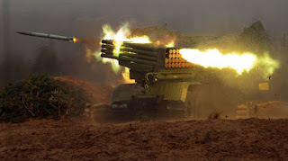 الجيش السوري يقصف مواقع للجيش الإسرائيلي في مرتفعات الجولان المحتلة