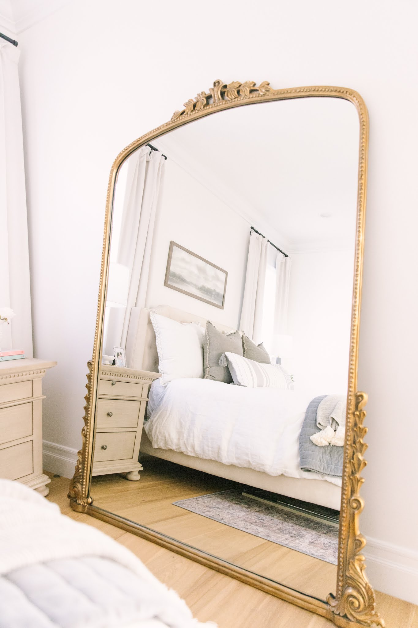 anthropologie gleaming primrose 7 foot mirror