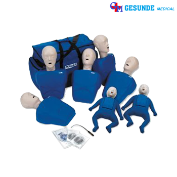Promp TPAK700 CPR Prompt 5 Adult/Child Manikins & 2 Infant Manikins
