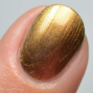 bronze duo chrome nail polish